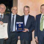 E.Silvestri (pres. A.C.E.S.), C.Corsi (pres. Chianti Banca), R.Illy (imprenditore), M.Guasconi (pres. CCIAA Siena)