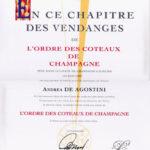 Chevalier de l'Ordre des Coteaux de Champagne