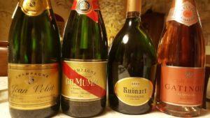 Champagne in degustazione