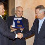 M.Guasconi (pres. CCIAA Siena), C.Corsi (pres. Chianti Banca), R.Illy (imprenditore)