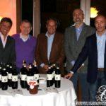 F.Ciocatto, dr. M.Mairano(Ferrari), ing. Felisa(A.D. Ferrari), A.De Agostini, P.Monti